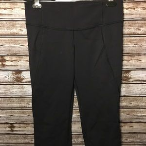 Lululemon Gather Crow Split Crop Athletic Pants
